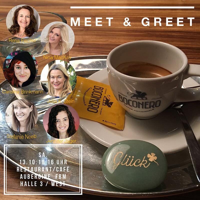 Meet and Greet auf der Frankfurter Buchmesse
