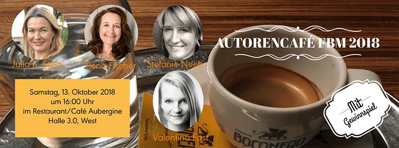 Autorencafé auf der Frankfurter Buchmesse 2018